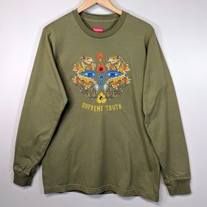Supreme Truth Embroidered Long Sleeve